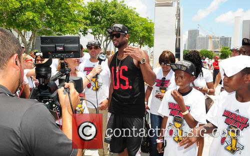 dwyane wade miami heat victory parade and 3733928