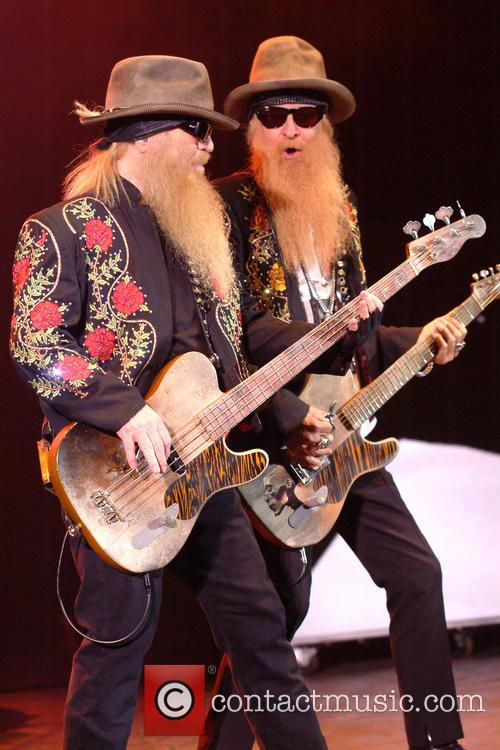ZZ TOP performing live in concert
