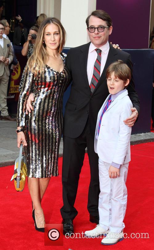 Sarah Jessica Parker, Matthew Broderick and James Wilkie Broderick 10
