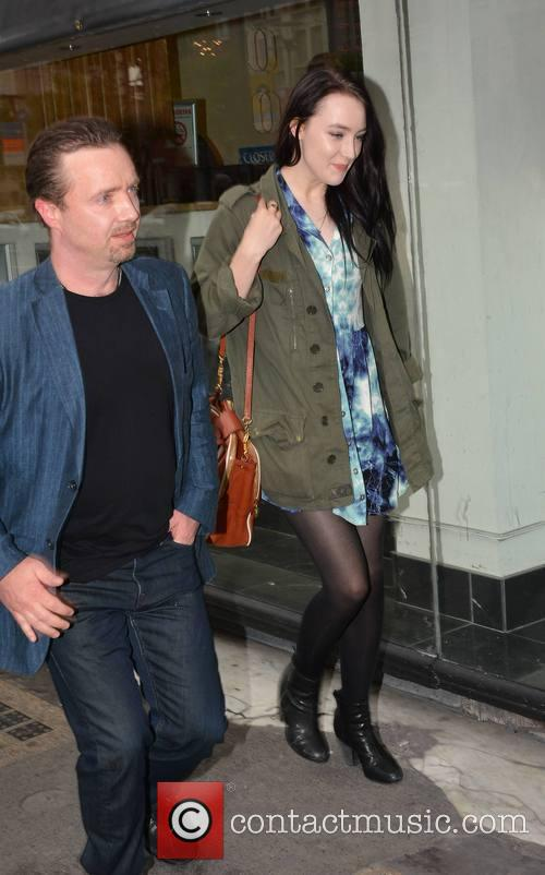 Saoirse Ronan and Father Paul Ronan 1
