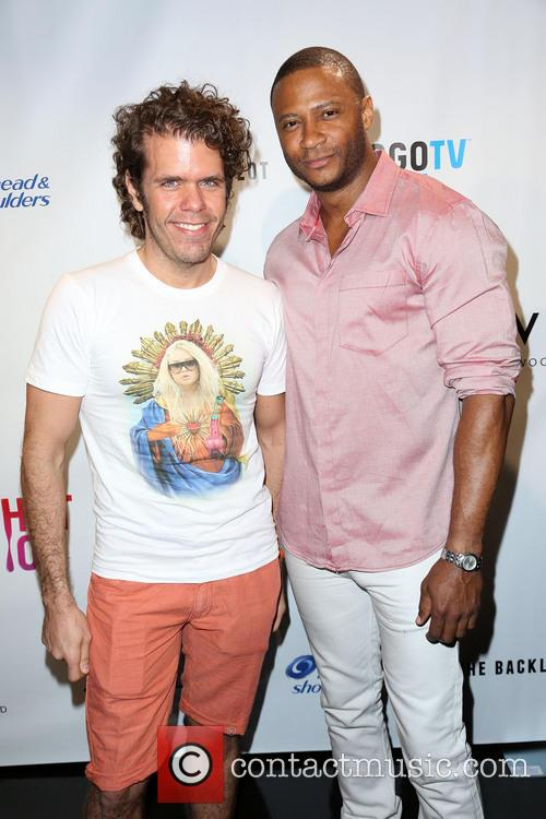 Perez Hilton and David Ramsey 6