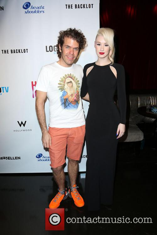 Perez Hilton and Iggy Azalea 2