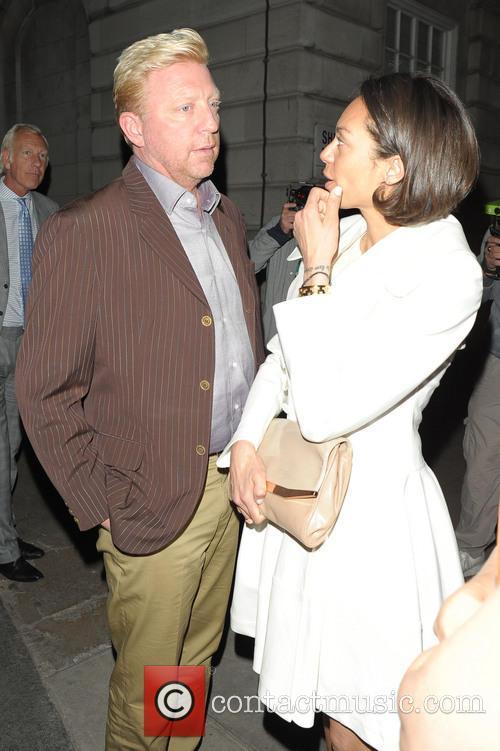 Boris Becker and Lilly Becker 1