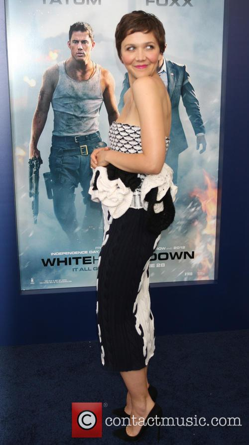 maggie gyllenhaal premiere of white house down 3734653