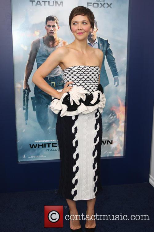 maggie gyllenhaal premiere of white house down 3734641