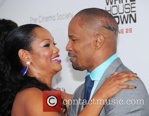 Garcelle Beauvais and Jamie Foxx 6