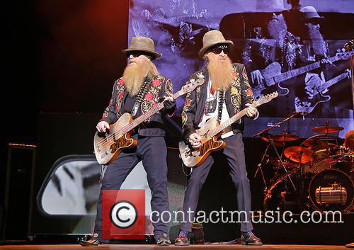 billy gibbons dusty hill zz top performing at 3734692
