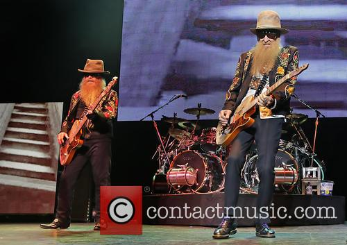 billy gibbons dusty hill zz top performing at 3734706