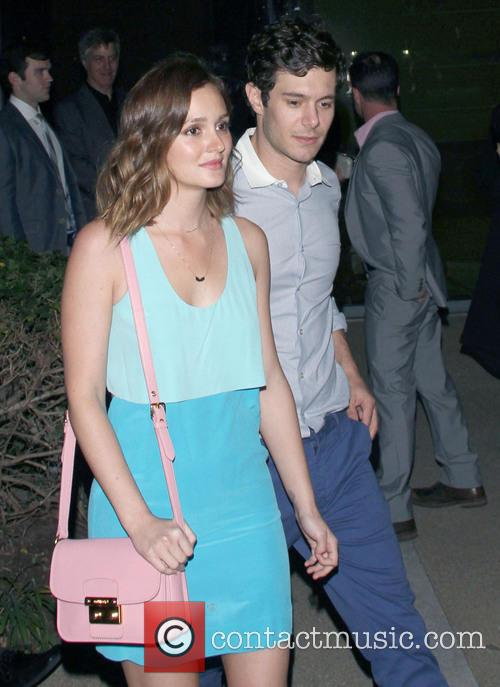 Leighton Meester and Adam Brody 7