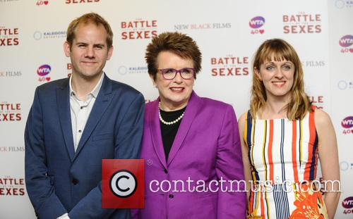 James Erskine, Billie Jean King and Zara Hayes 2