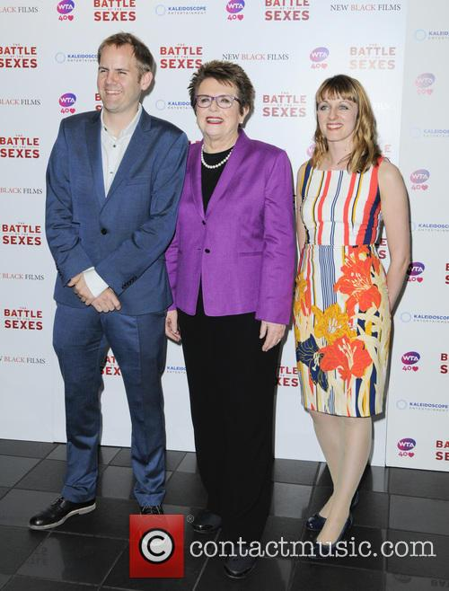 James Erskine, Billie Jean King and Zara Heyes 3