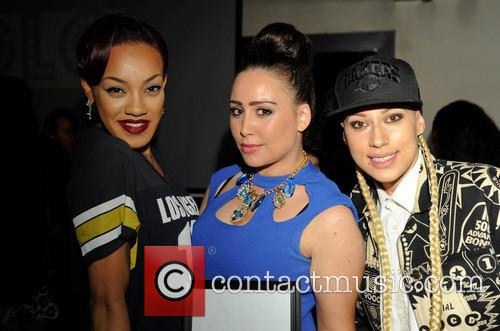 Karis Anderson, Courtney Rumbold and Stooshe 3