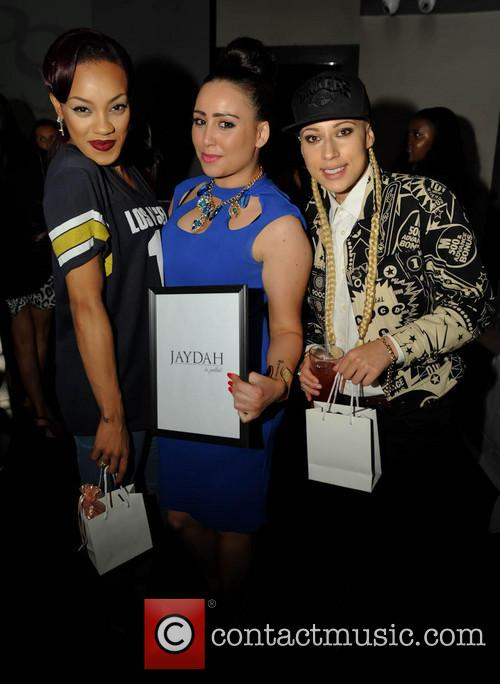 Karis Anderson, Courtney Rumbold and Stooshe 4