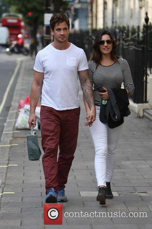 Kelly Brook and Danny Cipriani 1