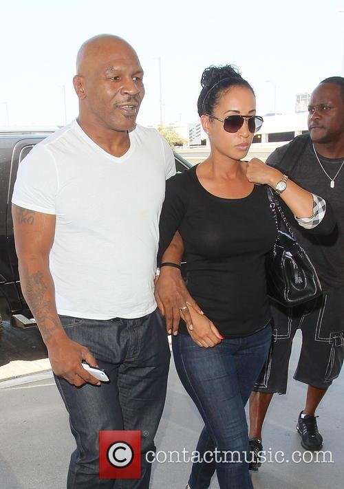Mike Tyson and Lakiha Spicer 1