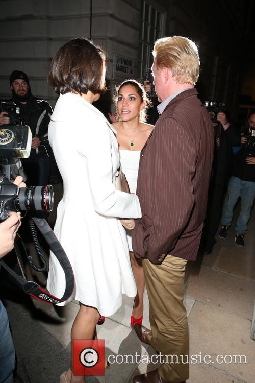 Sharlely Kerssenberg and Boris Becker 4