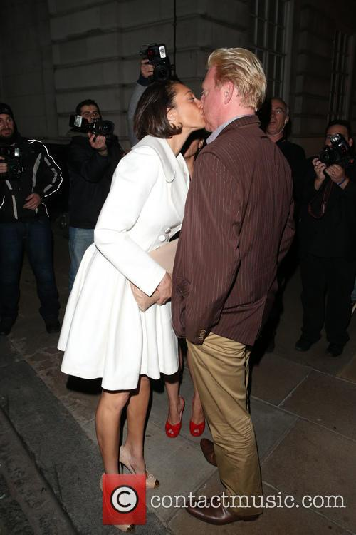 Sharlely Kerssenberg and Boris Becker 5