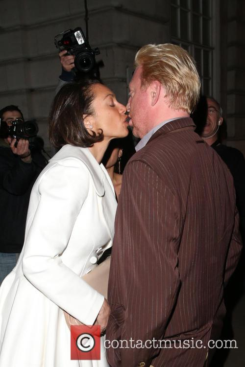 Sharlely Kerssenberg and Boris Becker 8