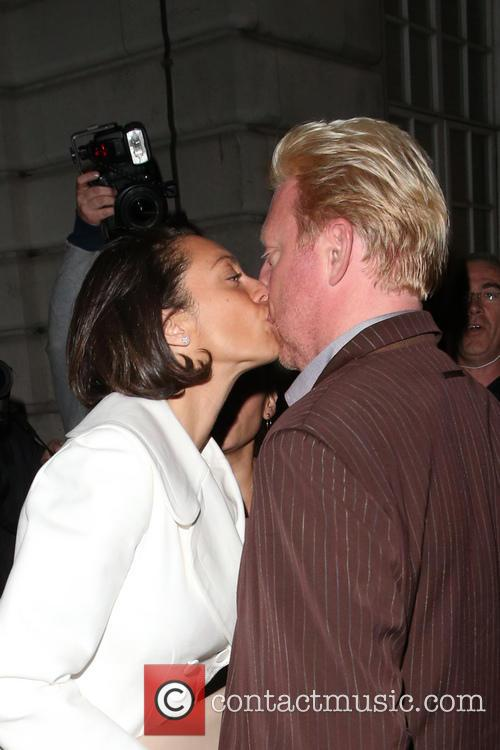 Sharlely Kerssenberg and Boris Becker 11
