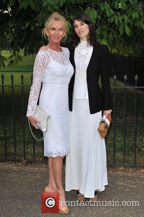 Trudy Styler and Bella Freud 2