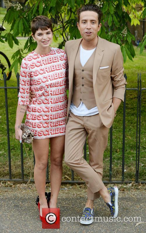 Pixie Geldof and Nick Grimshaw 8
