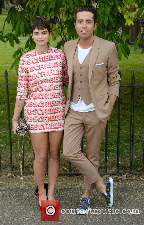 Pixie Geldof and Nick Grimshaw 9