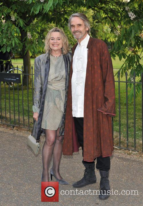 Sinead Cusack and Jeremy Irons 3