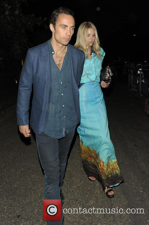 Donna Air and James Middleton 10