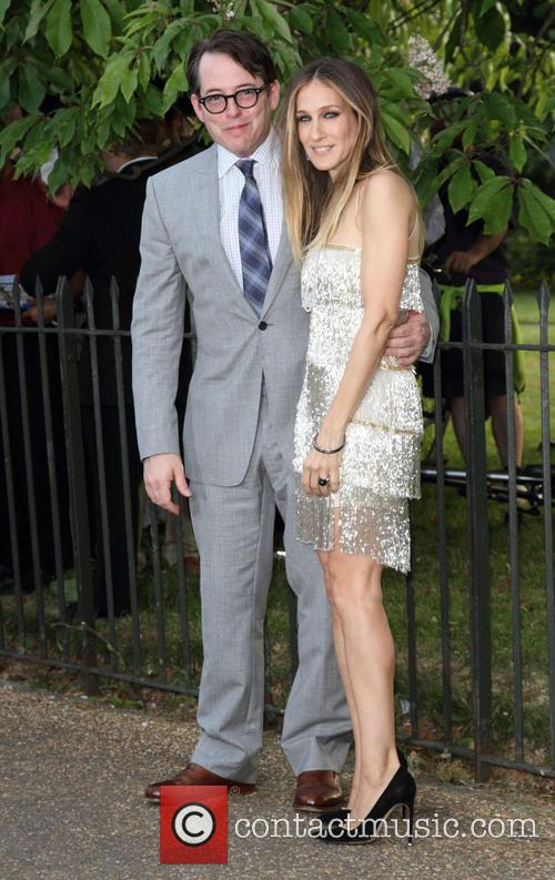 Matthew Broderick, Sarah Jessica Parker, Serpentine Gallery London, Serpentine Gallery
