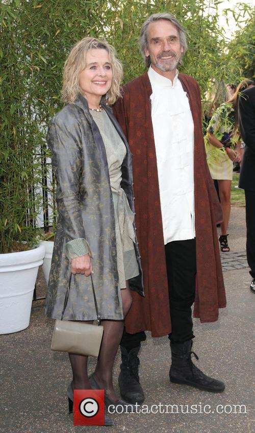 Sinead Cusack, Jeremy Irons, Serpentine Gallery London, Serpentine Gallery