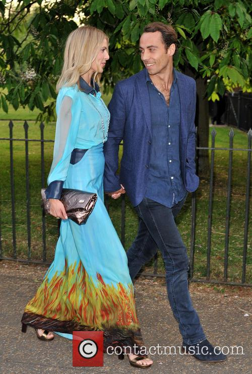 Donna Air and James Middleton 1