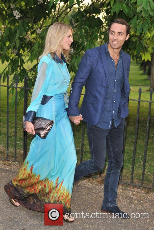 Donna Air and James Middleton 2