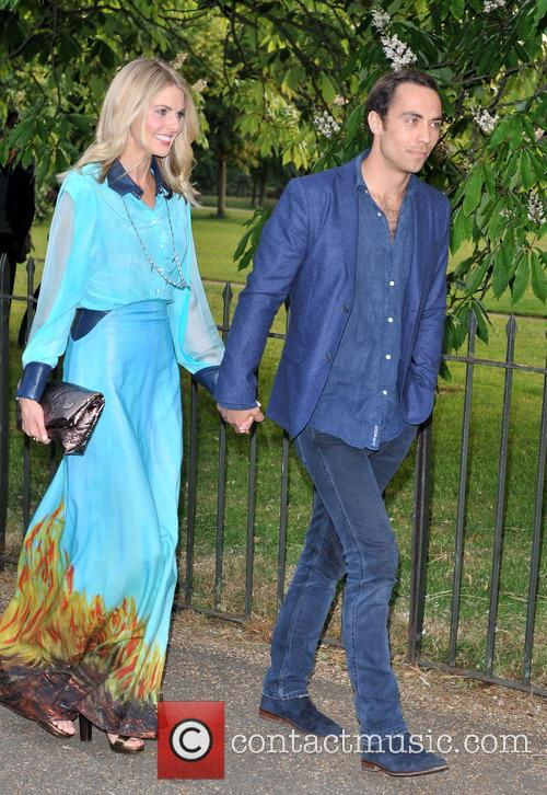 Donna Air and James Middleton 4