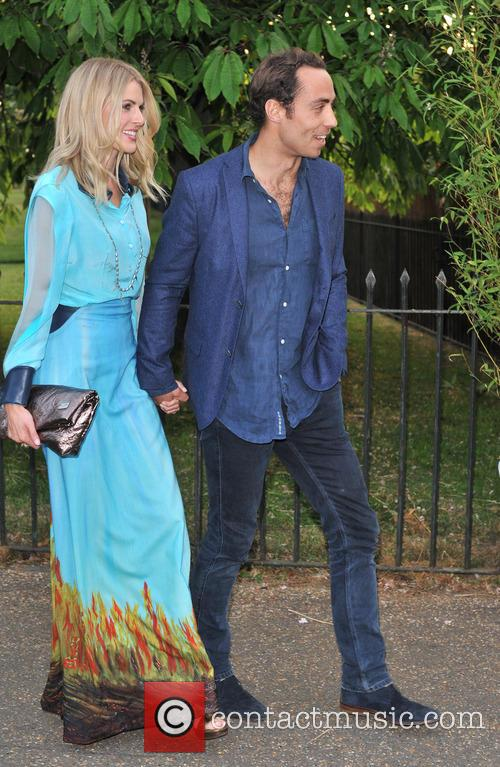 Donna Air and James Middleton 6