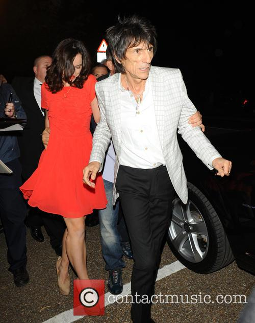 Ronnie Wood and Sally Humphreys 2