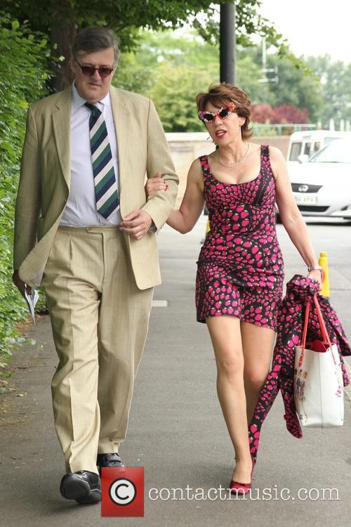 Stephen Fry and Kathy Lette 1