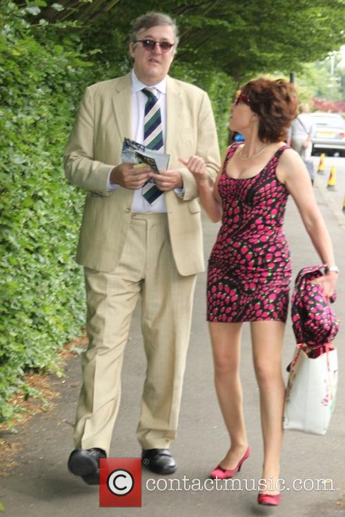 Stephen Fry and Kathy Lette 4