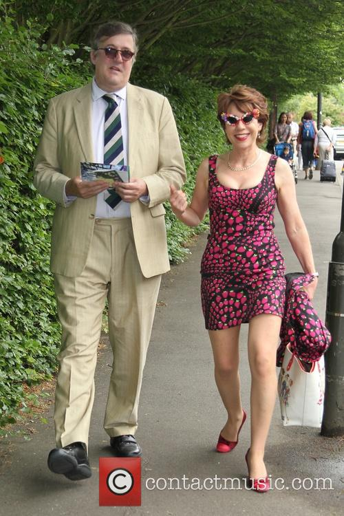 Stephen Fry and Kathy Lette 5