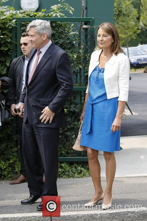 Wimbledon, Carole Middleton, Michael Middleton and Tennis 3
