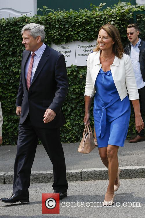 Wimbledon, Carole Middleton, Michael Middleton and Tennis 1