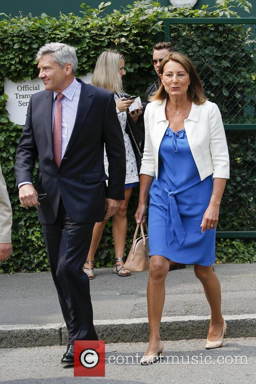 Wimbledon, Carole Middleton, Michael Middleton and Tennis 4