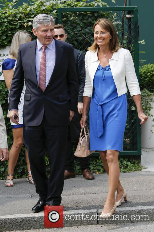 Wimbledon, Carole Middleton, Michael Middleton and Tennis 5