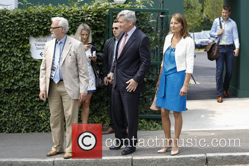 Wimbledon, Carole Middleton, Michael Middleton and Tennis 7