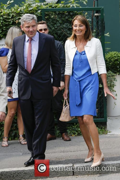 Wimbledon, Carole Middleton, Michael Middleton and Tennis 8