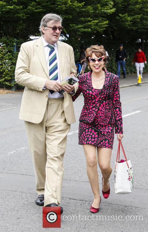 Stephen Fry and Kathy Lette 6