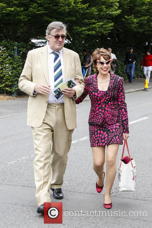 Stephen Fry and Kathy Lette 7