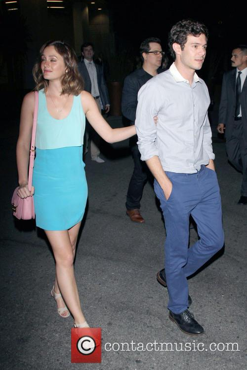 Leighton Meester and Adam Brody 2