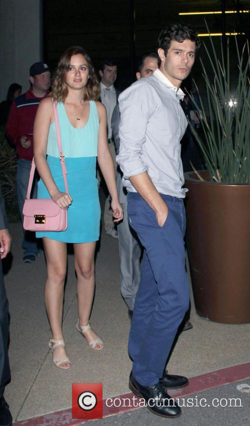 Leighton Meester and Adam Brody 5