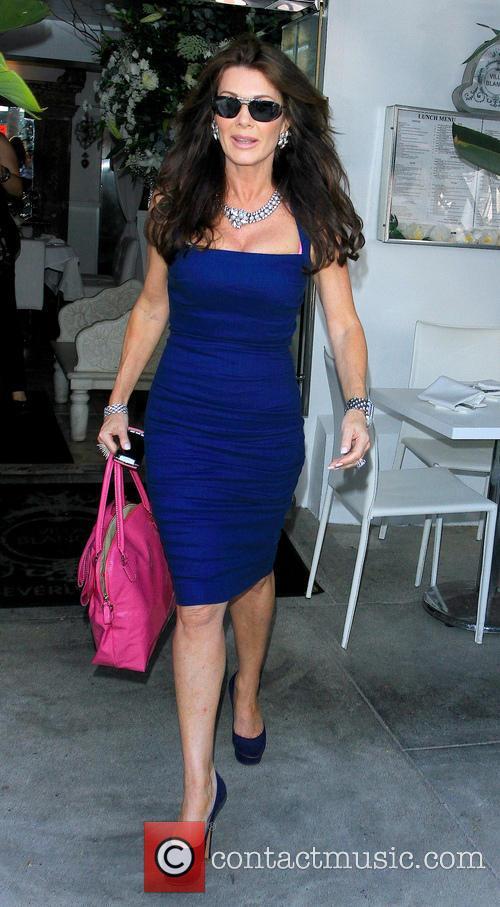 Lisa Vanderpump Leaving Villa Blanca
