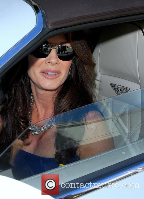 Lisa Vanderpump Leaving Villa Blanca